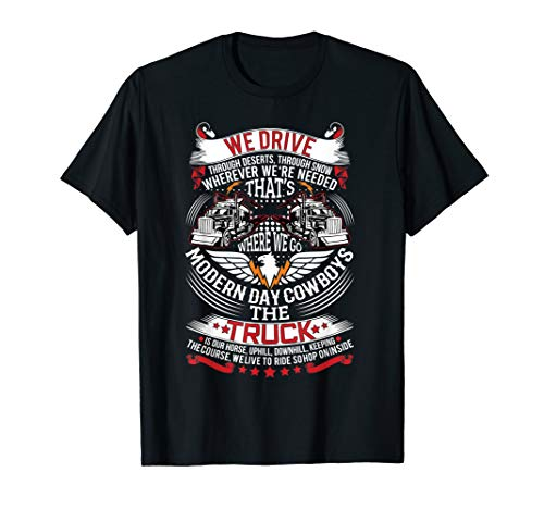 Trucker Quote Men Women Truck Driver T-Shirt Gift Tee ()