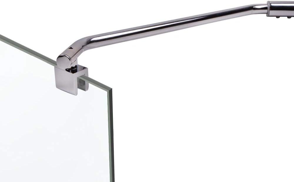 Asidero Mampara curvada 35,5 cm para fortalecer Cristal Hasta 10 ...