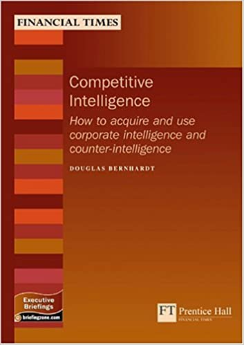 Competitive Intelligence Pdf