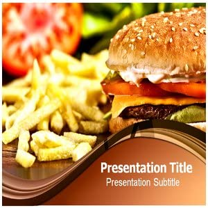 Amazon Com Fast Food Powerpoint Templates Fast Food