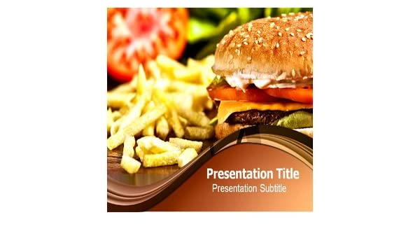 Amazon Fast Food Powerpoint Templates Fast Food Powerpoint