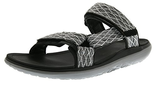 Teva Men's Terra - Float Slide Sports and Outdoor Lifestyle Sandal Black (Clbc)