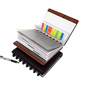 "TUL Custom Note-Taking System Discbound Refill Pages, 8.5"" x 11"" Narrow Ruled, Letter Size, 100 Pages (50 Sheets), White"