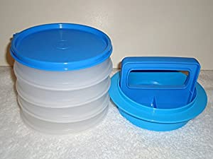 Nice Tupperware Hamburger Press Set