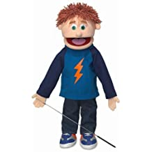 ''Tommy'', 25In Full Body Puppet, Peach -Affordable Gift for your Little One! Item #DSPU-SP2771