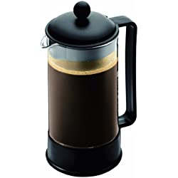 Bodum BRAZIL Coffee Maker, French Press Coffee Maker, Black, 34 Ounce (8 Cup)