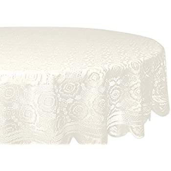 Awesome DII Home Essentials 100% Polyester, Machine Washable, Shabby Chic, Vintage  Tablecloth Or