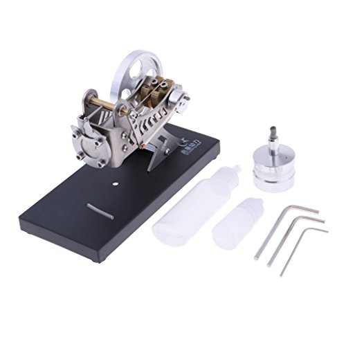 MagiDeal Metal Micro Vacuum Stirling Engine Motor Science for sale  Delivered anywhere in Canada