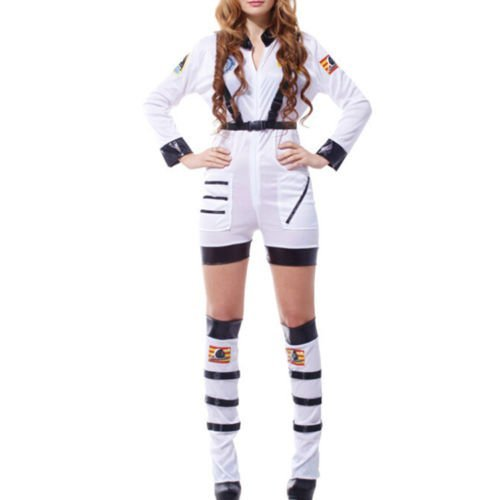 [MinElect(TM) New Women Spacesuit Sexy Astronaut Jumpsuit Halloween Costumes Party Fancy Dress] (Varys Halloween Costume)