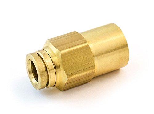 Parker Legris 66PMT-6-4-pk20 Legris 66PMT-6-4 Nylon /& Nickel-Plated Brass Air Brake Push-to-Connect Fitting Pack of 20 3//8 Tube OD x 1//4 NPTF Female Nylon//Brass Pack of 20 Inline Connector 3//8 Tube OD x 1//4 NPTF Female Nylon//Brass