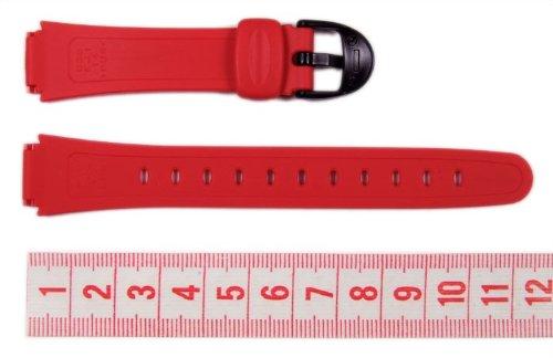 Casio watch strap watchband Resin red 14mm LW-200