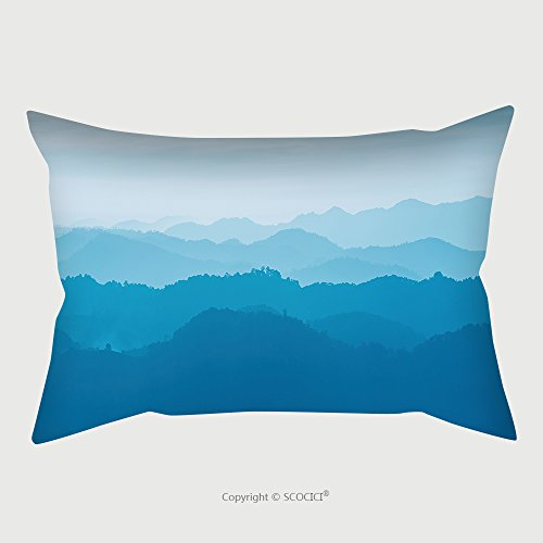 Custom Satin Pillowcase Protector Mountain And Sunset At Doi Khamfah Chiangmai Thailand 245933227 Pillow Case Covers Decorative by chaoran