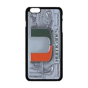 miami hurricanes Phone Case for Iphone 6 Plus Kimberly Kurzendoerfer