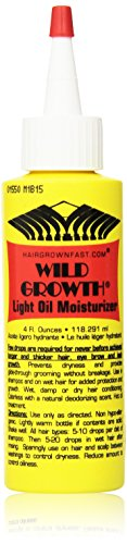 Price comparison product image Wild Growth Light Oil Moisturizer 4 oz. (Pack of 2)