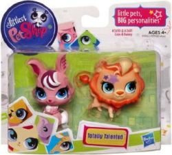 Lion Bunny - Littlest Pet Shop Totally Talented Pets Lion Bunny