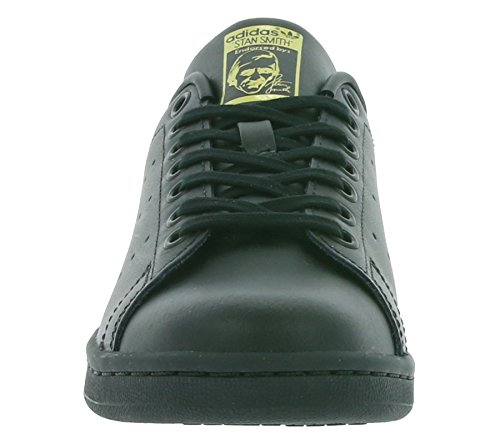 Unisex Smith Sneaker Kids' gold black Low Stan adidas Neck dH4Sxnd