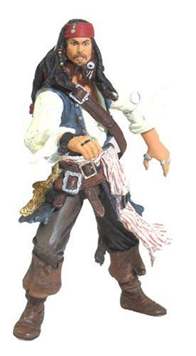 Pearl Figure Toy - Pirates of the Caribbean Dead Mans Chest Final Battle Jack Sparrow Action Figure