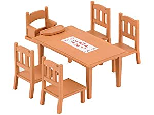 Sylvanian Families Family Table and Chairs,Furniture