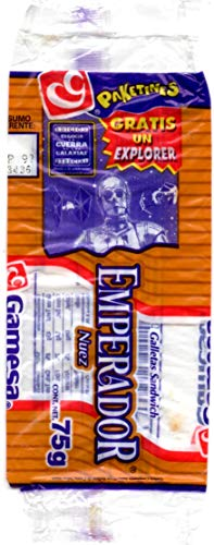 Star Wars: Special Editions Gamesa Cookies 1997 Mexico Exclusive Emperador Nuez Wrapper