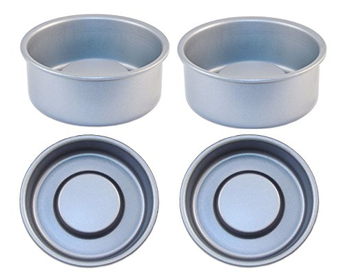 Small Cake Pans Wilton 2105 1829 Mini Round Pans 4 By 1