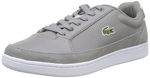 Uomo Sneaker Setplay Wht Gry Grigio Lacoste 8PTqxC