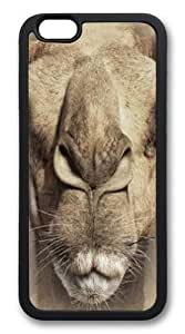 Custom DIY Case for iphone 6 Plus, Big Face Camel Hard PC Back Protective Case for iphone 6 Plus 5.5 by runtopwell