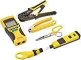 Klein Tools VDV001-819 ProPack VDV Voice/Data/Video Apprentice Tool Set (6-Piece)