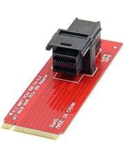 JSER U.2 U2 Kit SFF-8639 NVME PCIe SSD Adapter voor moederbord Intel SSD 750 p3600 p3700 M.2 SFF-8643 Mini SAS HD