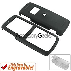 Nokia 6275 Rubberized Plastic Case - Black