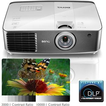 The BenQ W1500 Wireless HDMI Projector with Colorific Technology