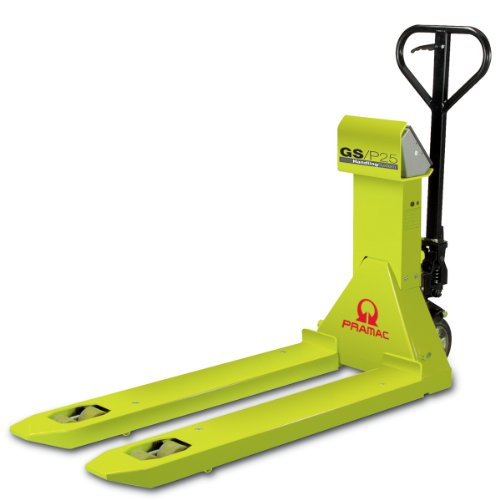 Scale pallet truck - 2500kg capacity