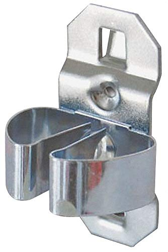 Steel Standard Spring Clip, Hanging Mounting Type, Silver, Finish: Bright Zinc pack of 5