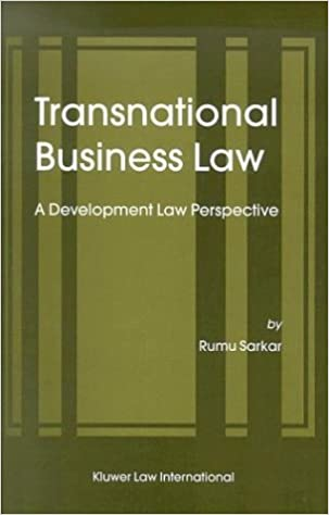 Transnational Business Law: a Development Law Perspective