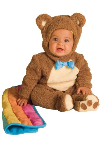 Bear Jumpsuit Costumes (Rubie's Costume Infant Noah Ark Collection Oatmeal Bear Jumpsuit, Brown/Beige, 18-24 Months)