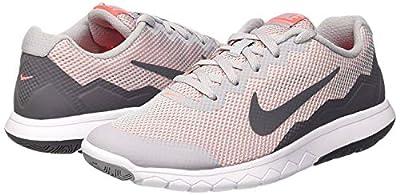 Nike Women's Flex Experience RN 4 Running Shoe (Wolf Grey/Dark Grey-Hot Lava, 8 M US)