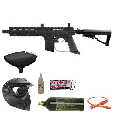 (Tippmann US Army Project Salvo Bronze Paintball Gun Package)