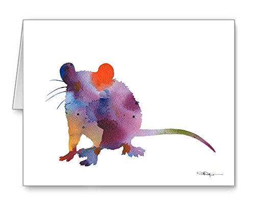 rat-set-of-10-art-note-cards-by-watercolor-artist-dj-rogers