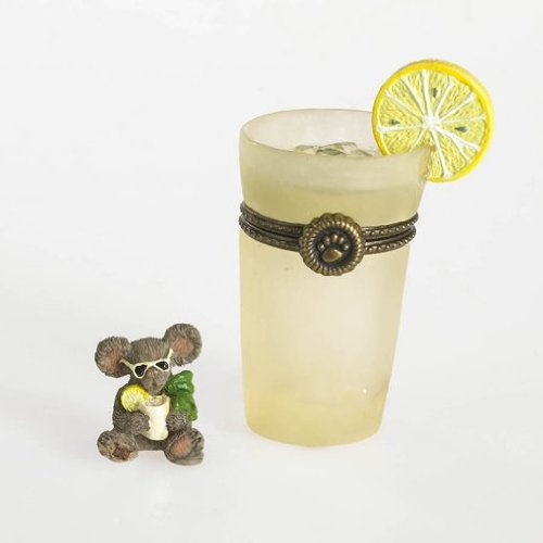 Boyds Bear Glass Of Lemonade Treasure Box 2013 ()