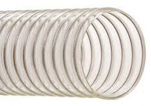 Hi-Tech Duravent EH-M Heavy-Duty Series PVC Vacuum Duct Hose, Clear, 3