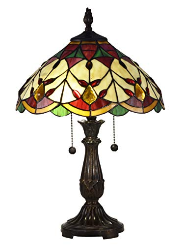 Dale Tiffany TT17076 Arizona Marshall Table Lamp, 21.5