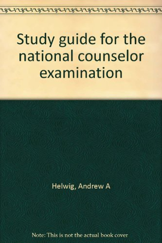 Study guide for the national counselor examination