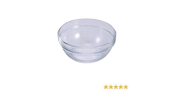 26 cm Cuenco para mezclar de cristal de 3896 ml ideal para el hogar o la cocina profesional.