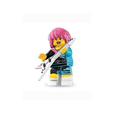 Lego Series 7 Rocker Girl Mini Figure: Toys & Games
