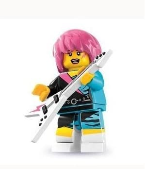 Lego Series 7 Rocker Girl Mini Figure