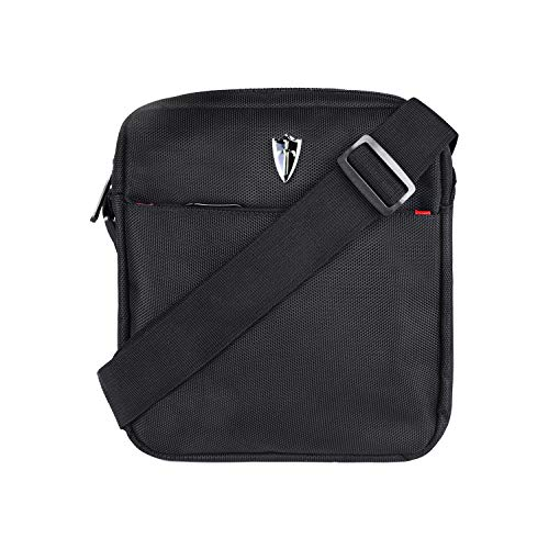 Victoriatourist V5006 Vertical Messenger Bag for iPad-Mini and Tablets Upto 8.1-Inch