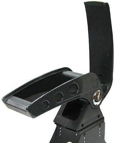 Universel 48006 Accoudoir Central Console Accessoire de Rangement et Repose-bras avec Compartiment Organiseur Pi/èce D/étach/ée dInt/érieur de Voiture Carbone