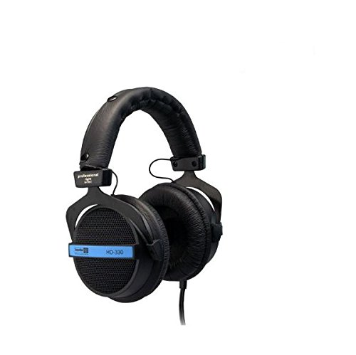 Superlux Kopfhörer HD-330 Over Ear Schwarz