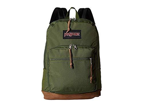 JanSport Unisex Right Pack Digital Edition New Olive Yarn-Dye One Size (Green Jansport Backpack)