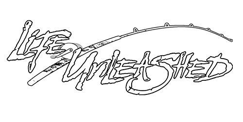 LIFE UNLEASHED ALD2006 LU Fishing Rod Decal