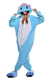 Pajamas, Abary Unisex Anime Lounge Homewear Adult Kigurumi Cosplay Costume